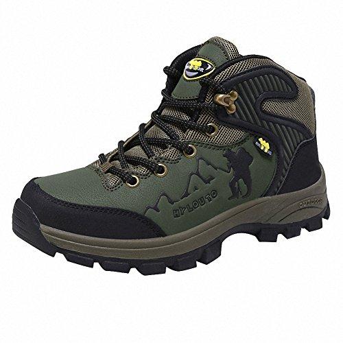Ben Sports Verde Zapatillas de senderismo Botas Correr en montaña par