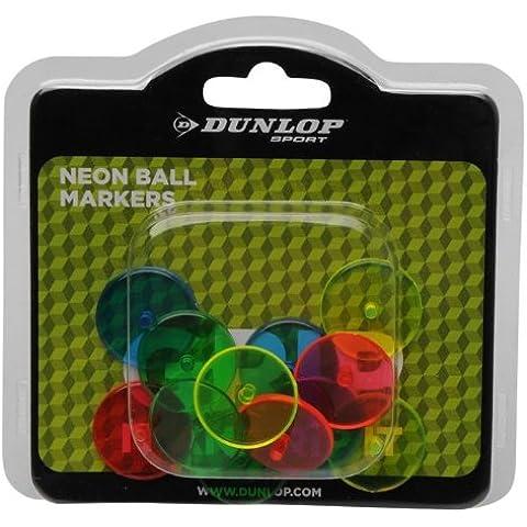 Dunlop-Neon evidenziatori brillanti, confezione da 12, colori, riflettente, ideale per accessori da Golf - Dunlop Golf Irons