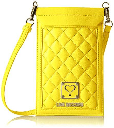 Love Moschino JC5300, Borse a Tracolla Donna, 13 x 40 x 37 cm (B x H x T) Giallo (yellow)