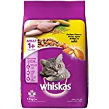 Whiskas Dry Cat Food, Chicken for Adult cats, 1.2 kg
