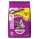 #7: Whiskas Dry Cat Food, Chicken for Adult cats, 1.2 kg