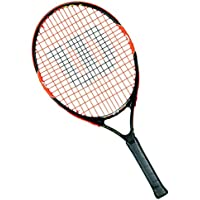 Wilson Burn 25 Rkt Racchetta da Tennis, Nero/Arancione, 25 - Wilson Racket Sports