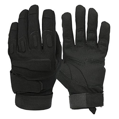 Mimicool Herren Outdoor-Handschuhe Full Finger Military Tactical Handschuhe Anti-Rutsch Verschleißbeständige Fahrrad-Radfahren...