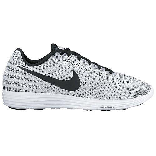 Nike Lunartempo 2, Running Homme Blanc (White/black)