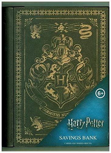 Paladone Abysse Corp_GIFPAL384 Spardose Harry Potter, Hogwarts Wappen, Mehrfarbig, 5 x 15 x 18 cm