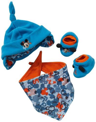 adidas Kinder Mütze, Tuch, Socken Disney Geschenkset, dunkel blau / orange, O05652 (Jersey Cap Adidas)