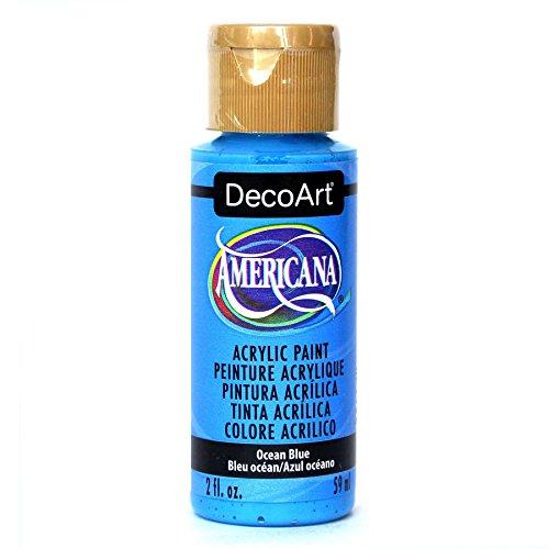 DecoArt Americana Mehrzweck-Acrylfarbe, 59 ml, Ocean Blau