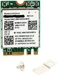 Deal4GO BCM94371ZAE 5GHz 802. 11ac 867Mbps M.2 NGFF 2230 Mini PCi-e Wireless WiFi Adapter WLAN Card w/بلوتوث 4