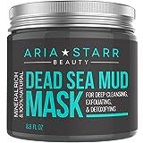 Aria Starr Mascarilla de barro del mar Muerto, para la cara, el acné...