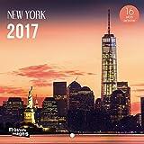 Nouvelles Images Calendrier 2017 New York 16 mois 14,5 x 14,5 cm...