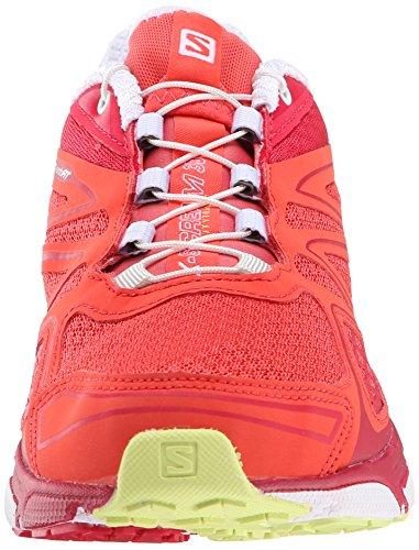 Salomon X-Scream 3d, Chaussures de Running Compétition Femme pink