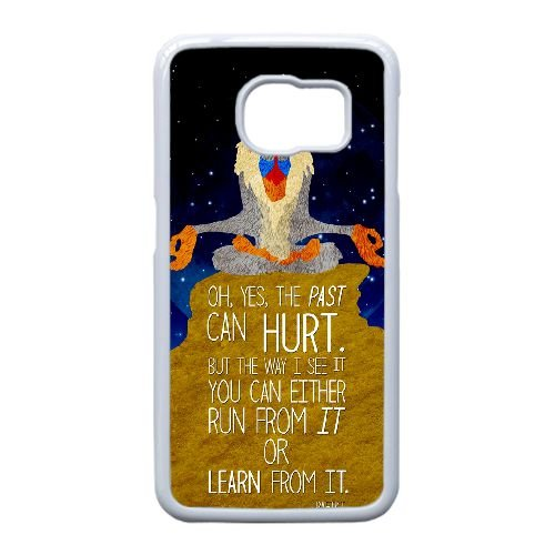 Lion King Quotes Qi2O0V cover samsung Galaxy S6 Cell Phone Case White Li463i Phone Case Custom Customized
