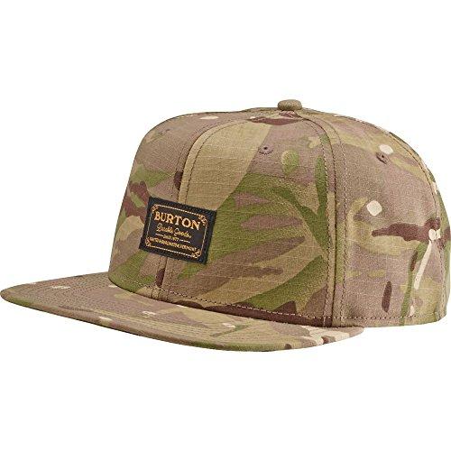 Burton Herren Kappe Riggs Cap Green Camo