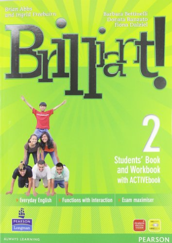 Brilliant! Ediz. pack. Student's book-Workbook-Culture book. Per la Scuola media. Con DVD-ROM. Con espansione online: 2