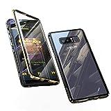 Coque pour Samsung Galaxy Note 8 Adsorption Magnétique Tech Housse 360 degrés...