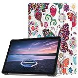 Wawer Hülle Für Samsung Galaxy Tab S4 10.5 inch SM-T830 T835 Leder Flip Standgehäuse Abdeckung (C)