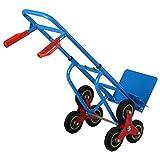 Carretilla de transporte de mano Carrito de paso escalera Profesional Máx 200kg