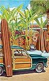 Northwest Art Mall ed-6062BAX Beach Zugang Print von Künstler Evelyn Jenkins Drew, 27,9x 43,2cm