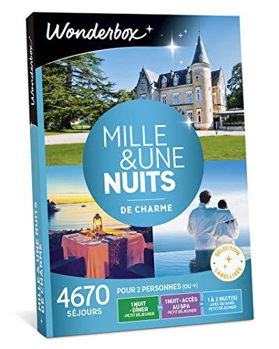 Wonderbox - Coffret cadeau couple - MILLE ET UNE NUITS DE CHARME - 4670 séjours...