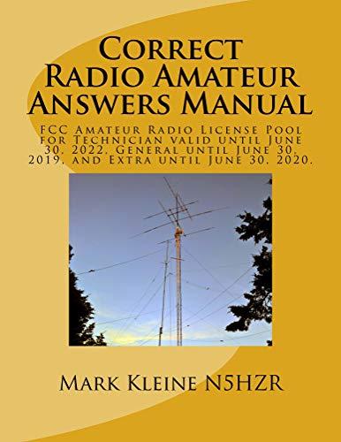 Correct Radio Amateur Answers Manual: CRAAM (English Edition)