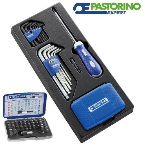 Assortiment clés hexagonales Kit pour chariot PaSTORINO expert e121105