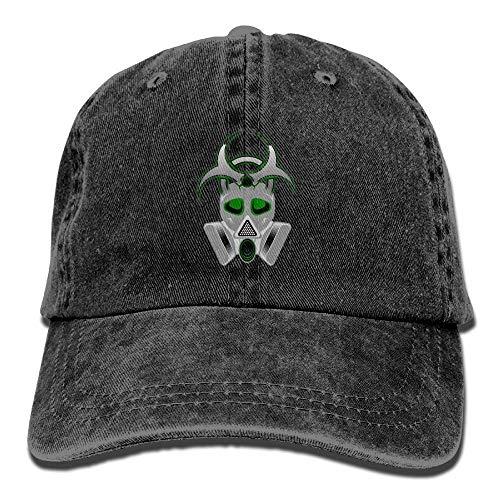 Classic Unisex Baseball Cap Ball Hat Biohazard - Gas Mask - Biohazard-snap