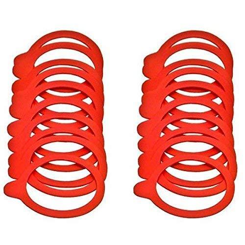 20 Einkochringe / Weckringe / Einmachringe 54x67 mm für Mini-Weckgläser / Rundgläser 60 mm -