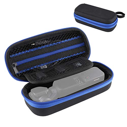 JIANGEGE Tragbare Mini-Diamant-Beschaffenheit PU-Leder Lagerung Fall Tasche für DJI Osmo-Taschen-Gimbal