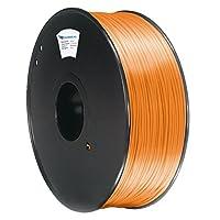 Surreal Pure PLA 3D Printer Filament 1.75mm - 1KG spool, Orange