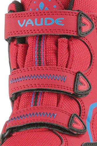 Vaude  Kids Cobber Ceplex Mid, Chaussures de ville à lacets pour garçon rouge/bleu