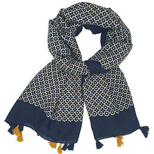 Foulard Femme 6 Couleurs Bleu Ma...