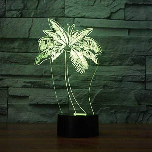 Led Palm Tree Modellierung Nachtlicht Usb 3D Arylic Tischlampe Mode Schlafzimmer Dekor Nacht Baby Schlaf Leuchte Kinder Spielzeug -