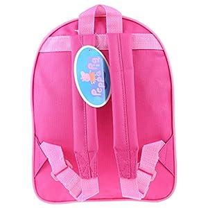 51iJ zzcPZL. SS300  - Peppa Pig - Mochila para niños, diseño de corazón, color rosa y azul