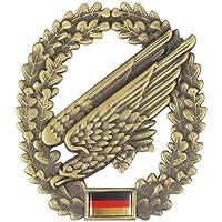 Original German army beret badge made of metal in various varieties to choose from.