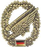 Original Bundeswehr Barettabzeichen aus Metall in verschiedenen Sorten zur Auswahl Farbe Fallschirmjäger