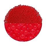 Trendfinding Granulat für künstliche Blumenerde Hydroperlen Hydro Perlen Wasserperlen Aquaperlen (3-4 mm, Rot)