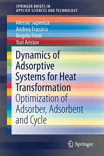 Dynamics of Adsorptive Systems for Heat Transformation: Optimization of Adsorber, Adsorbent and Cycle (SpringerBriefs in Applied Sciences and Technology)