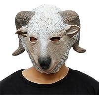 CreepyParty deluxe novit¨¤ festa di halloween costume lattice animale maschera testa di capra