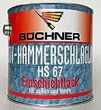 Büchner HS 67 Kunstharzlack / Hammerschlaglack Farbton Kupfer 6503, 2,5 L