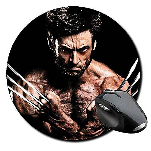 X Men Wolverine Hugh Jackman Lobezno B redondo alfombrilla de ratón PC