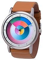 Reloj Avantgardia hurry, arcoriris, unisex, con caja de acero inoxidable de Rainbow Watch GmbH
