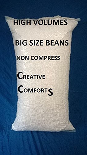 Cozy Bean Bag B Approx Bean Bag Refill For Bean Fillers For Bean Bags (750gms _Milky White)  available at amazon for Rs.410