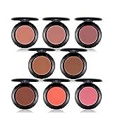 YYF Professionelle Rouge Palette Cheek Make-up Bronzer Kosmetik mit Face Form Contour Light Blush