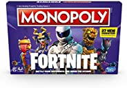 Hasbro Gaming Monopoly: Fortnite Edition Board Game Inspired By Fortnite Video Game