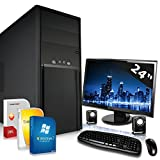 Komplett PC Office / Multimedia mit 3 Jahren Garantie gebraucht kaufen  Wird an jeden Ort in Deutschland