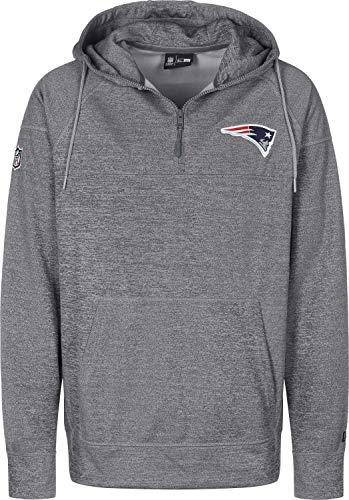 New Era NFL Jersey HZ Herren Sweater New England Patriots Grau, Größe:L