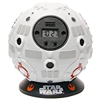 If you are a Star Wars fan then you are going to love this unique alarm clock. Designed in the shape and style of the Jedi Training Remote that Obi-Wan Kenobi uses to training Luke Skywalker in the Millennium Falcon. Featuring a LED d...