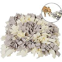 CUSFULL Snuffle Mat para Perros,Alfombra de Entrenamiento Alienta Las Habilidades Naturales de Forraje,Alfombra de Juego para Perros 40 x 40 cm