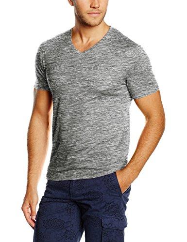 Celio Vebasic, T-Shirt Uomo, Grigio, Large