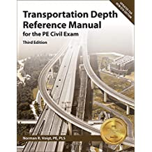 Transportation Depth Reference Manual for the Pe Civil Exam